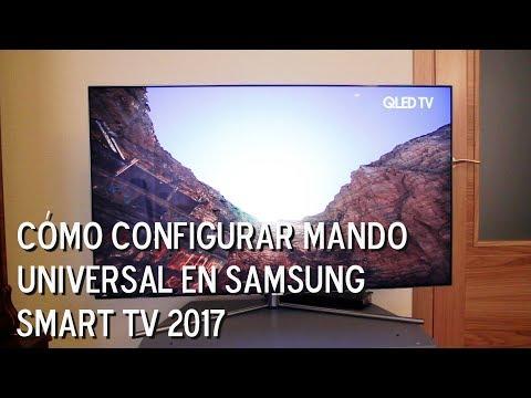 Configurar mando universal en Samsung Smart TV 2017