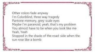 Chroma Key - Colorblind Lyrics