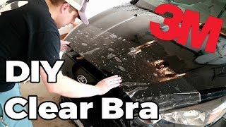 Installing a DIY 3M Clear Bra on my Ford Focus ST (How To Paint Protection Vinyl)