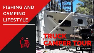 Truck Camper Video Tour - Fishing And Camping Lance Lifestyle