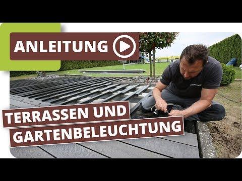 planeo Terrassen und Gartenbeleuchtung