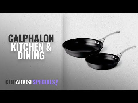 10 Best Selling Calphalon Kitchen & Dining [2018 ]: Calphalon Contemporary Hard-Anodized Aluminum