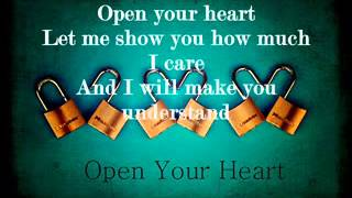 Open Your Heart-Westlife with Lyrics