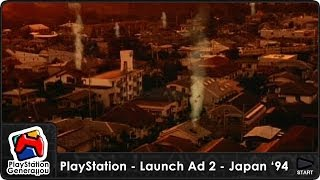 PlayStation - Launch Commercial #2 - Japan (1994) HQ