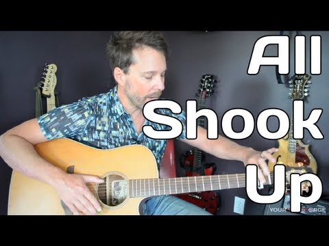 How To Play All Shook Up