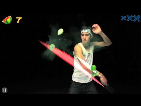 How To Make Your Own Live Fruit Ninja Video