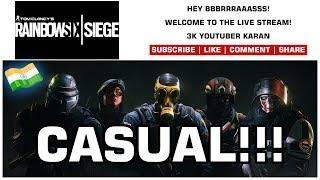 Rainbow Six Siege - Live Stream - Night With Noobs