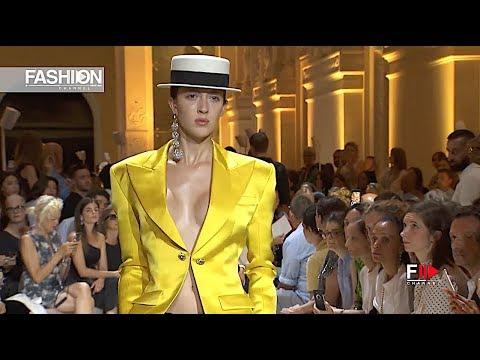 ALEXANDRE VAUTHIER Fall 2018 Haute Couture Paris - Fashion Channel