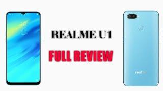 REALME U full review