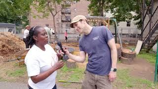 The Ben Jones Community Gardens at HUUB - interview with Councilwoman Adrienne Wooten