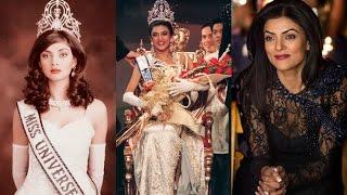 Sushmita Sen Miss Universe 1994 - Crowning Moment