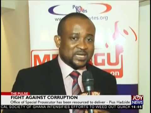 Fight against Corruption - The Pulse on JoyNews (3-10-18)