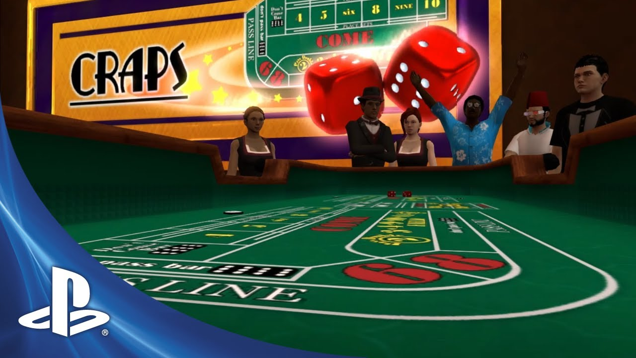 PlayStation Home: Craps! The Casino Gets A New Game, Halloween Creeps Closer