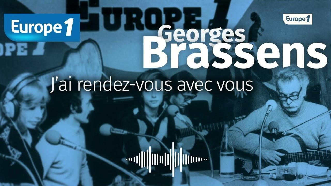 """""""Georges Brassens... j'ai rendez-vous avec Vous"""" : Le portrait sonore d'une figure mythique"""