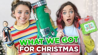 What We Got For CHRiSTMAS 2019 | Brooklyn and Bailey