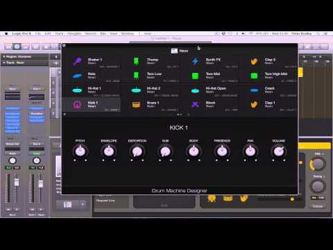 Logic Pro X 10.1 New Drummers