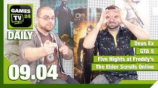Deus Ex, GTA 5, Five Nights at Freddy