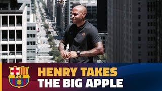 INSIDE TOUR   A day with Thierry Henry in New York