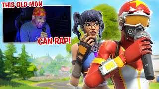 Rapping to Funny 8 Year Olds..😂They Stole my ChugJug (Voice Trolling Fills)
