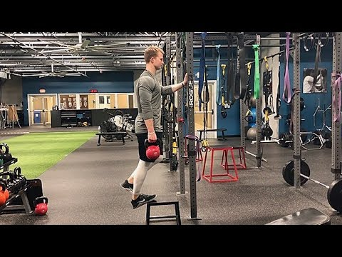 Weighted Single-Leg Calf Raise
