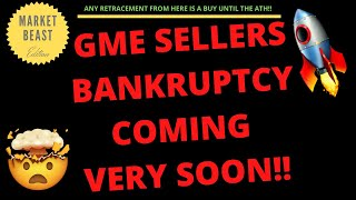 GME SELLERS BANKRUPTCY COMING VERY SOON!! | PRICE PREDICTION | TECHNICAL ANALYSIS$