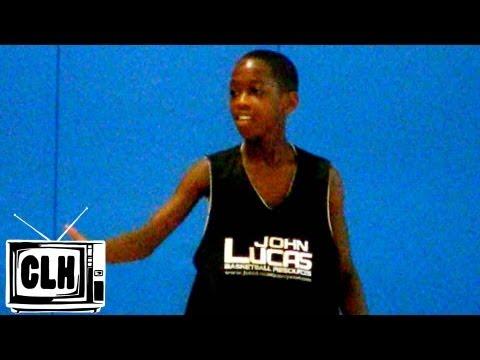 Jashaun Agosto 8th Grade Highlights - 2012 John Lucas Camp -