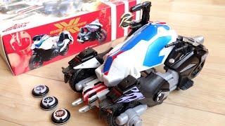 2台のバイクが車に変形!合体四輪 DXライドクロッサー レビュー!マッハが搭乗 ライドマッハー&ライドチェイサー 仮面ライダードライブ