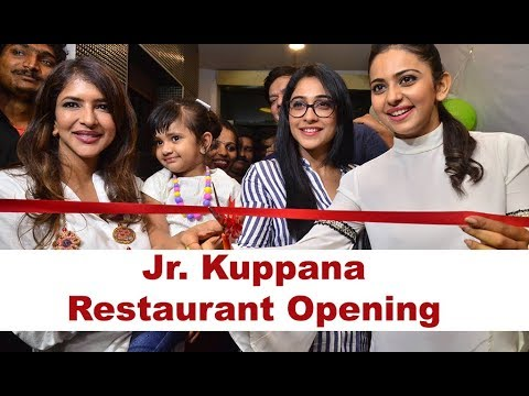 Junior Kuppana Restaurant Opening