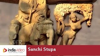 India's oldest stone structure, Sanchi Stupa in Madhya Pradesh