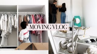 MOVING VLOG 2   The Incredibles 2, Building My Furniture & Unpacking - dooclip.me