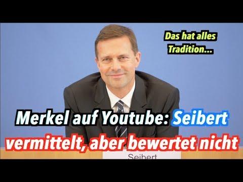 Seiberts Aufgaben: Merkels Interviews klarmachen? Ja! Kommentieren? Nein!