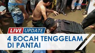 4 Bocah Tenggelam saat Asyik Mandi di Pantai Bantayan Aceh Utara, 2 Tewas lantaran Tak Bisa Berenang