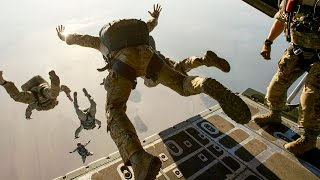 EPIC! MARSOC, Navy SEALs, Special Operations - Awesome Parachute Jumps