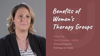 Benefits of Women's Therapy Groups