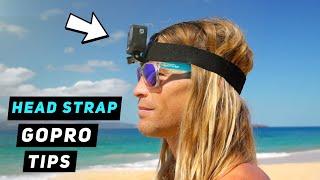 GoPro Head Strap / Helmet Mount Tips - GoPro Tip #676   MicBergsma