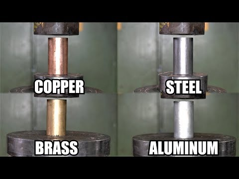 How Strong Are Metals? Explosion + BROKEN WINDOW! Hydraulic Press Test