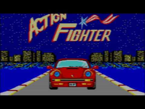 Sega Master System Games HD - Action Fighter