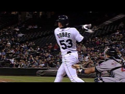 Greg Dobbs homers in his first MLB at-bat