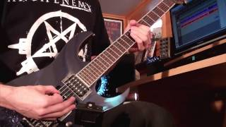 "Arch Enemy - ""I am Legend / Out for Blood"" - Guitar Cover"