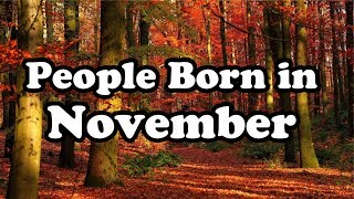 November   Birth Month Say About Your Personality   Happy Birthday   Whatsapp Status