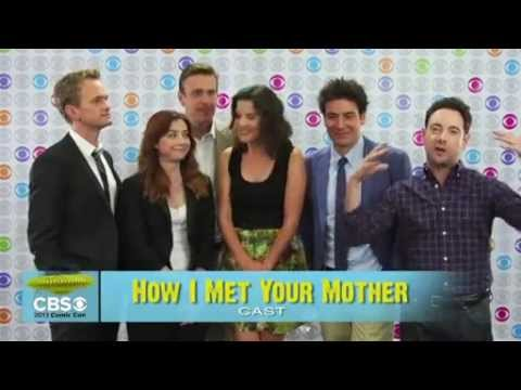 How I Met Your Mother - Seaspn 9 - Comic-Con Interviews with CBS and Zap2it