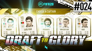 NEW ICONS IN DRAFT!   FIFA20   ULTIMATE TEAM DRAFT TO GLORY #24