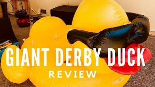 GAME Giant Derby Duck Inflatable Review