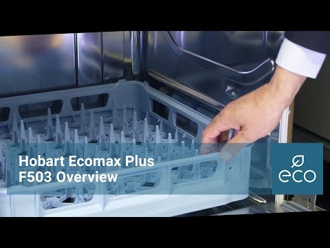 Hobart Ecomax Plus F503 Undercounter Dishwasher: Overview