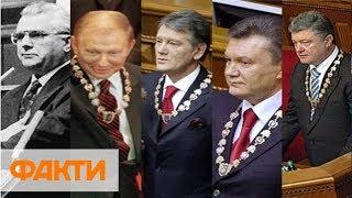 Инаугурации президентов Украины: первая инаугурация, закрытые двери и обморок солдата