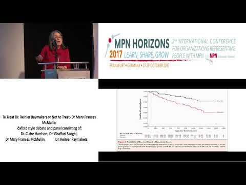 To treat or not to treat - MPN Horizons 2017