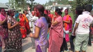 preview picture of video 'HOLI HANGAMA 2070 shyam neupane kp cat itahari'