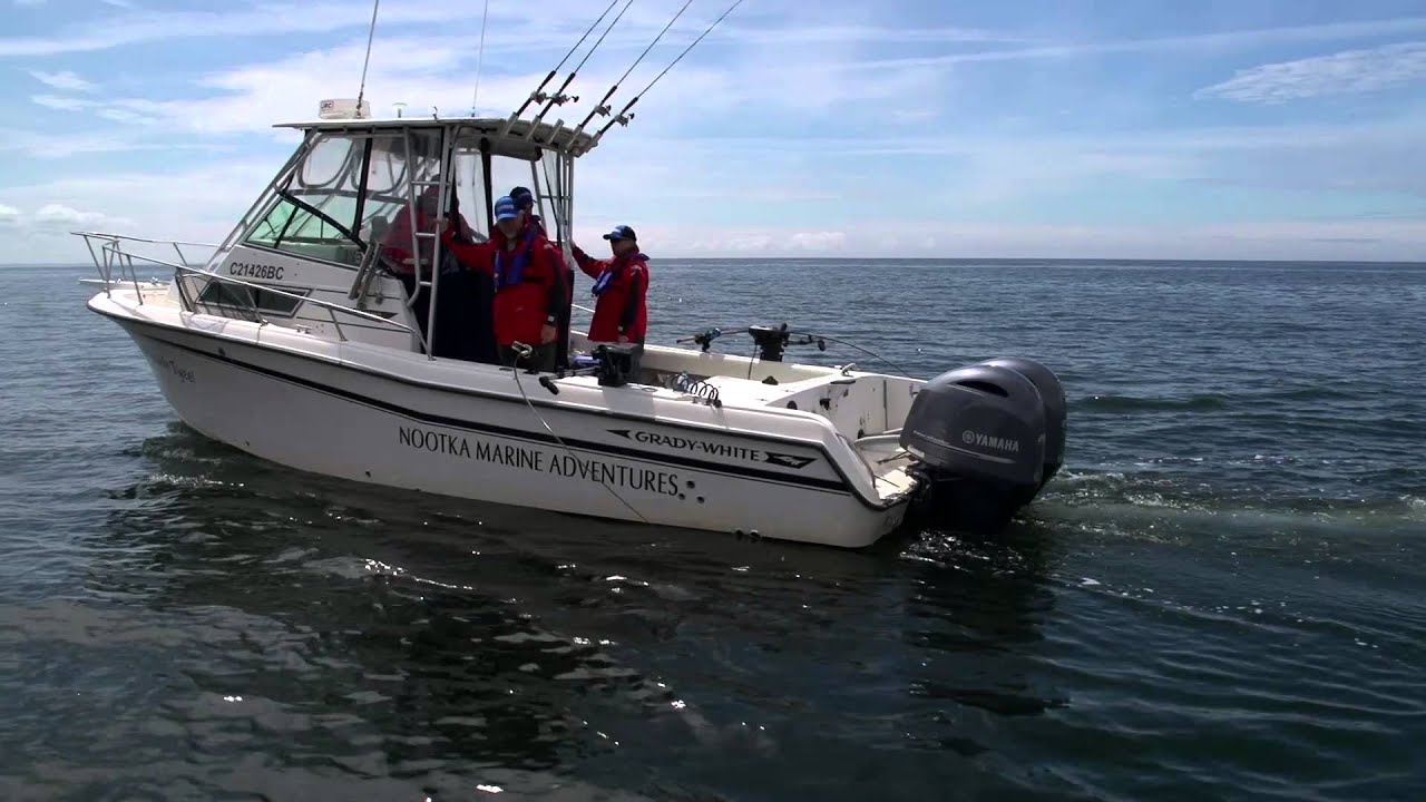 Yamaha with Nootka Marine Adventures - 2014