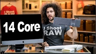 iMac Pro 14-core Unboxing & Sniff Test