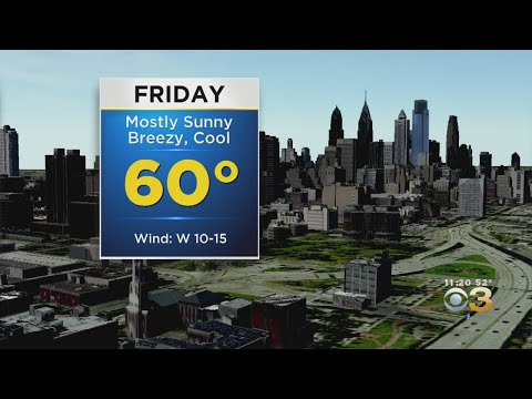 Philadelphia Weather: Cool And Breezy Friday